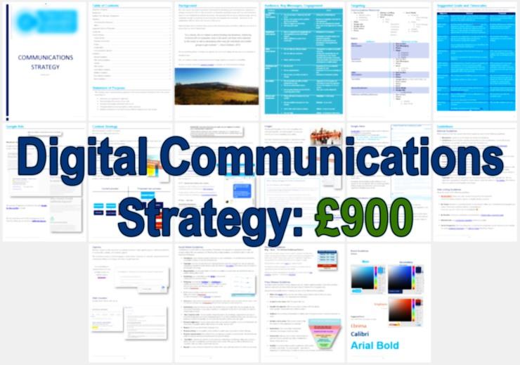 Digital Communications Strategy £900